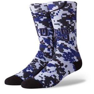 Stance San Diego Padres Jersey Crew Socks